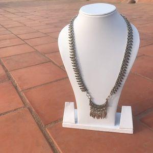 Jewelry - Oxidized Mango Leaf Necklace